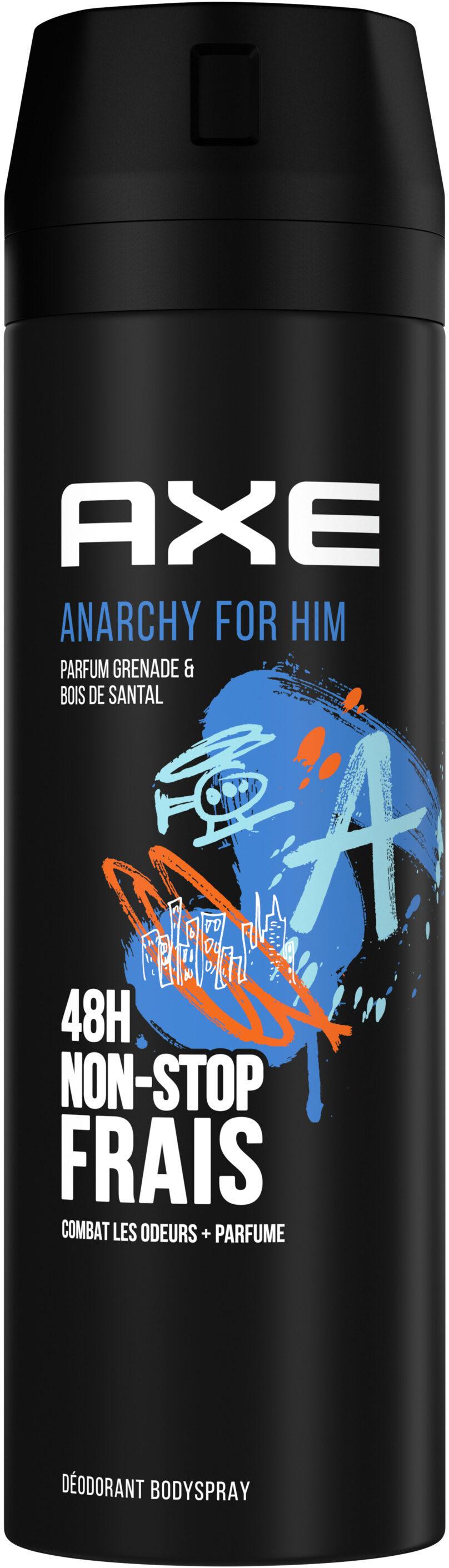 AXE Déodorant Homme Bodyspray Anarchy 48h Non-Stop Frais - Product - fr