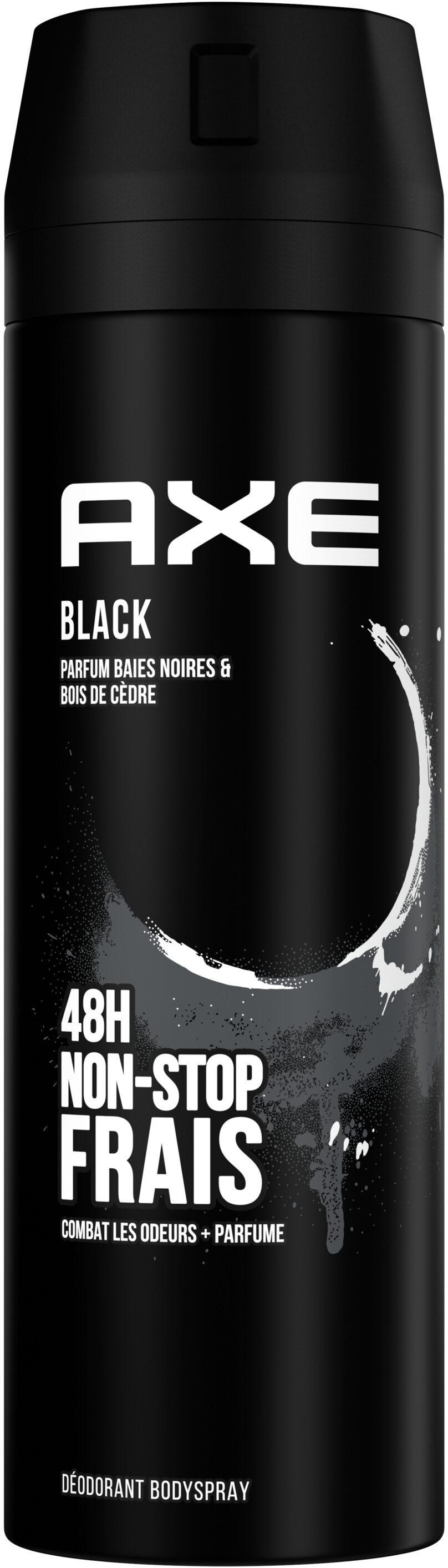 AXE Déodorant Homme Bodyspray Black 48h Non-Stop Frais - Product - fr