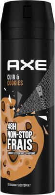 Axe Déodorant Bodyspray Collision Cuir & Cookies 48h Non-Stop Frais - Produit - fr