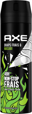 AXE Déodorant Homme Bodyspray Draps Frais & Wasabi 48h Non-Stop Frais - Продукт - fr