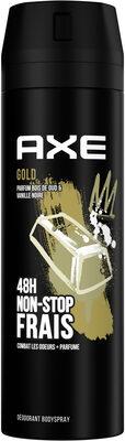 Axe Déodorant Bodyspray Gold 48h Non-Stop Frais - Product - fr