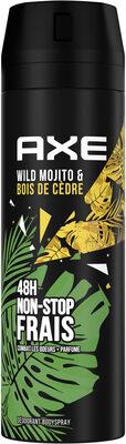 Axe Déodorant Homme Bodyspray Wild 48h Non-Stop Frais - Product - fr