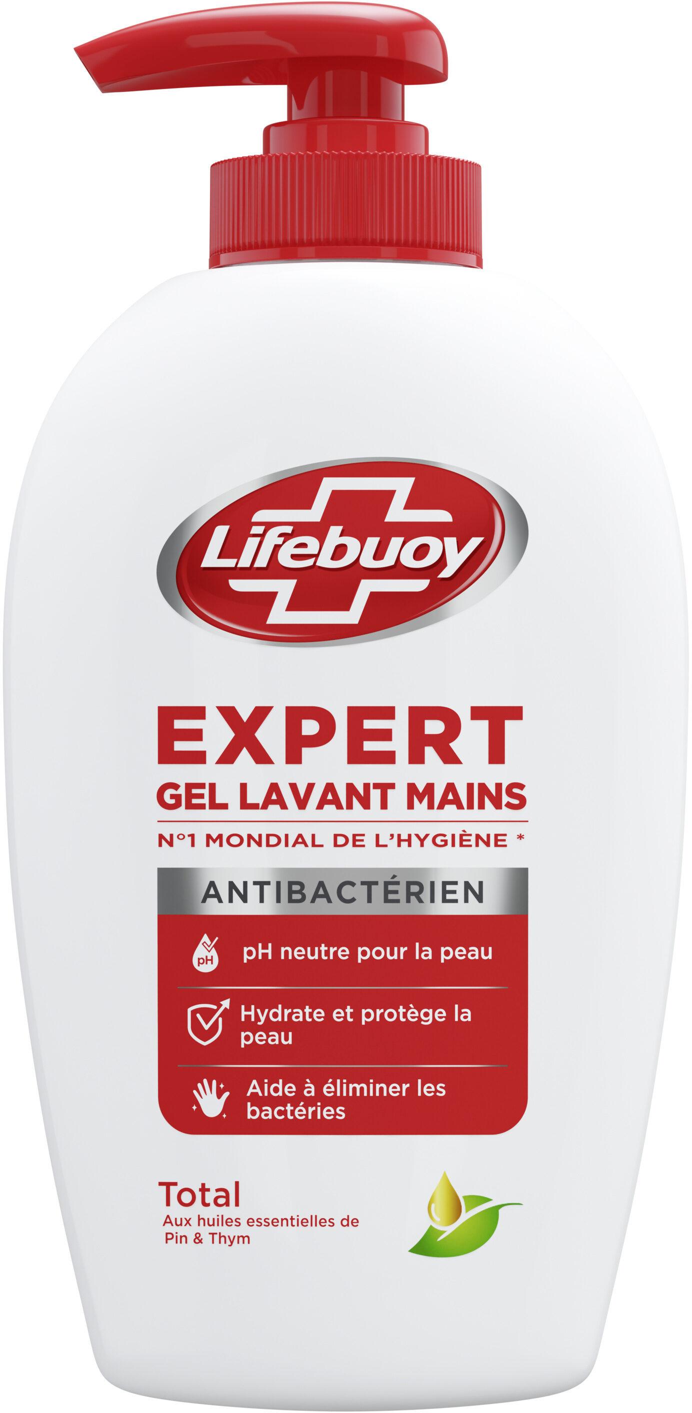 Lifebuoy Expert Gel Lavant Mains Pompe - Product - fr