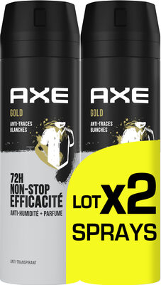 AXE Anti-Transpirant Homme Gold 72h Anti-Humidité Lot 2x200ml - Product