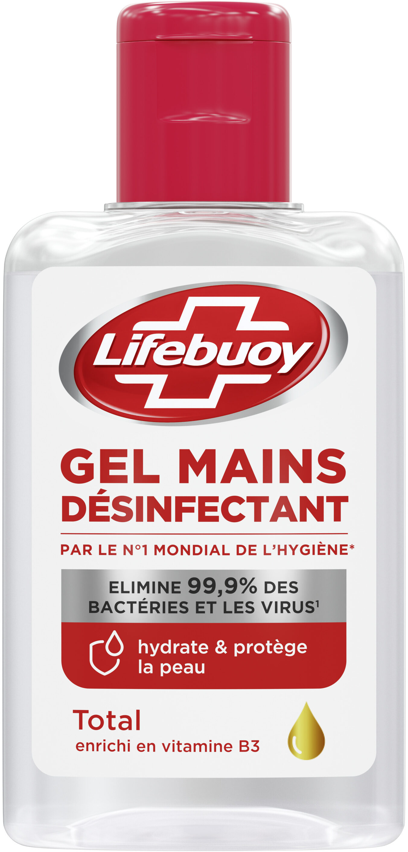 Lifebuoy Gel Hydroalcoolique Mains Flacon - Produit - fr