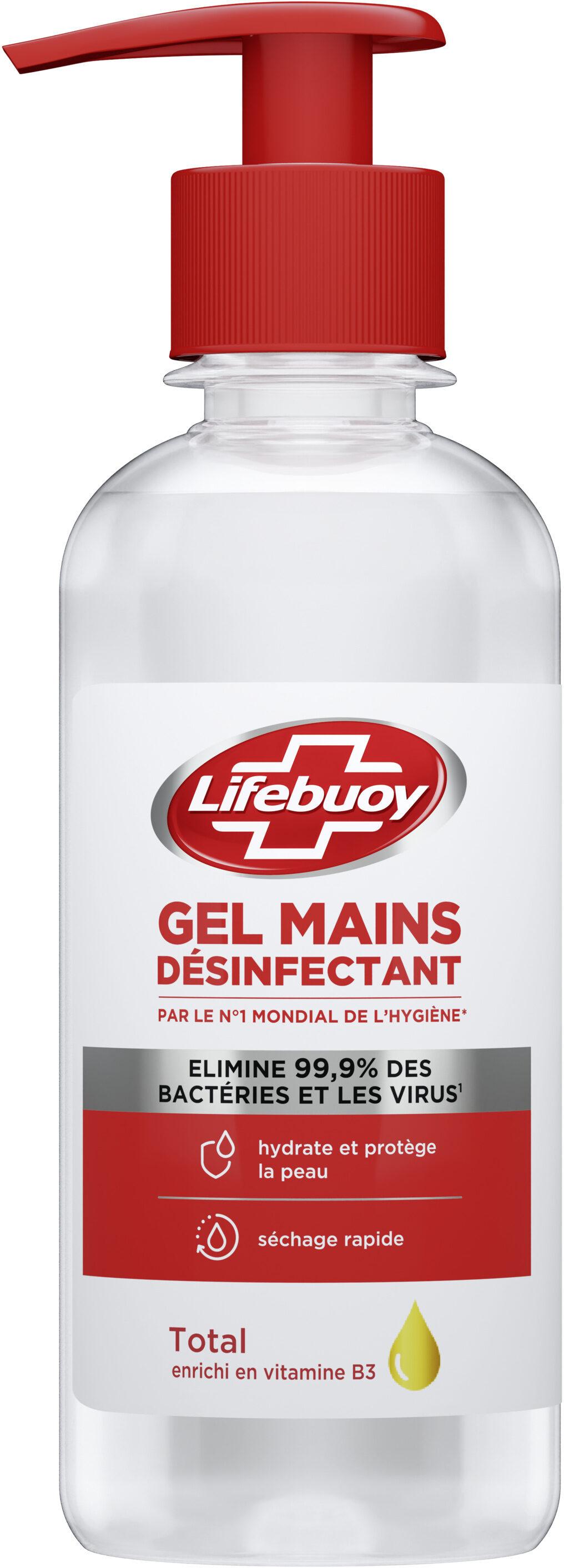 Lifebuoy Gel Hydroalcoolique Mains Pompe - Product - fr