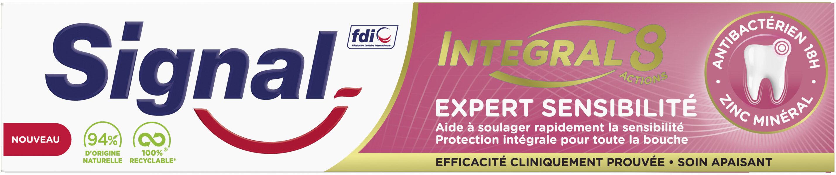 Signal Dentifrice Integral 8 Expert Sensibilité - Product - fr