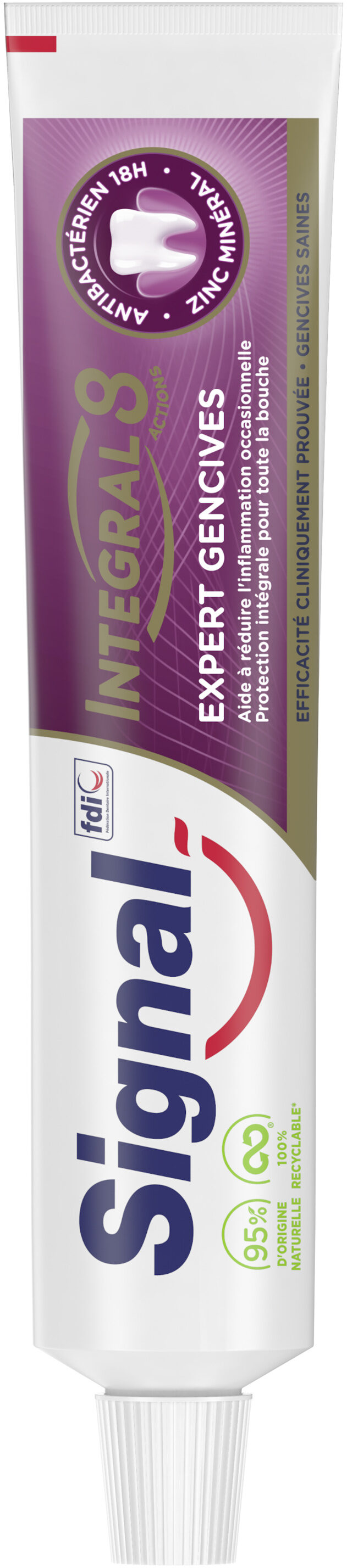 Signal Dentifrice Integral 8 Expert Gencives - Product - fr