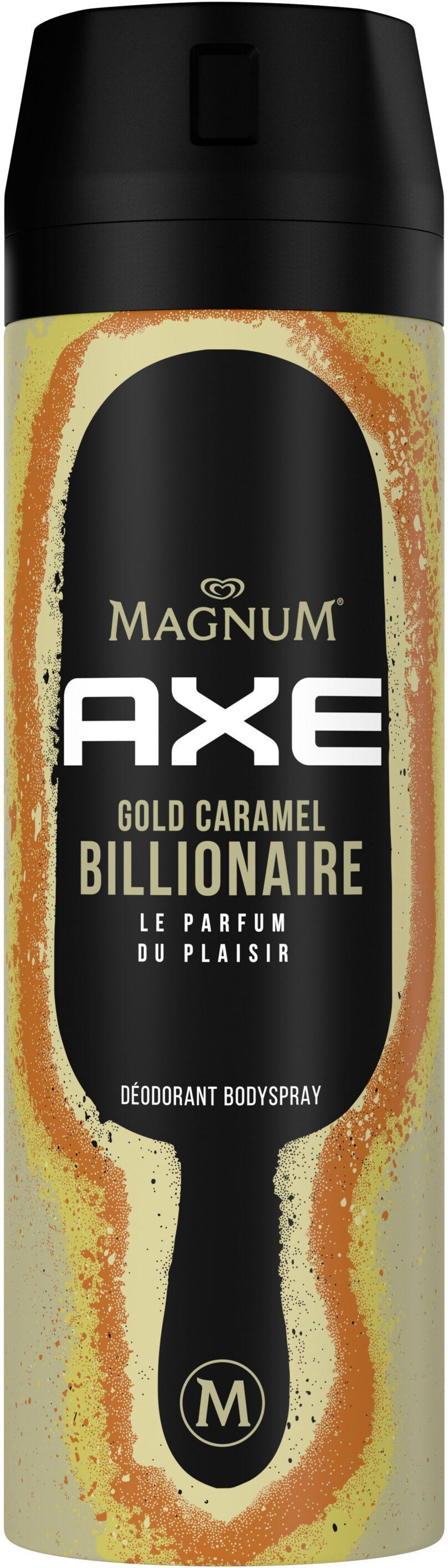 Axe Déodorant Bodyspray Magnum Gold Caramel Billionaire 48h Non-Stop Frais - Product - fr
