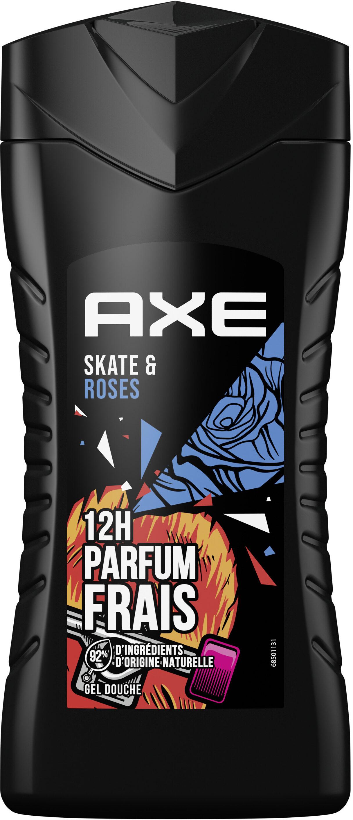 AXE Gel Douche Homme Skate & Roses 12h Parfum Frais - Produit - fr