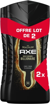 AXE Gel Douche Magnum Billionaire Lot 2x250ml - Product - fr