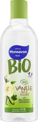 Monsavon Gel Douche Bio Vanille Figue - Product - fr