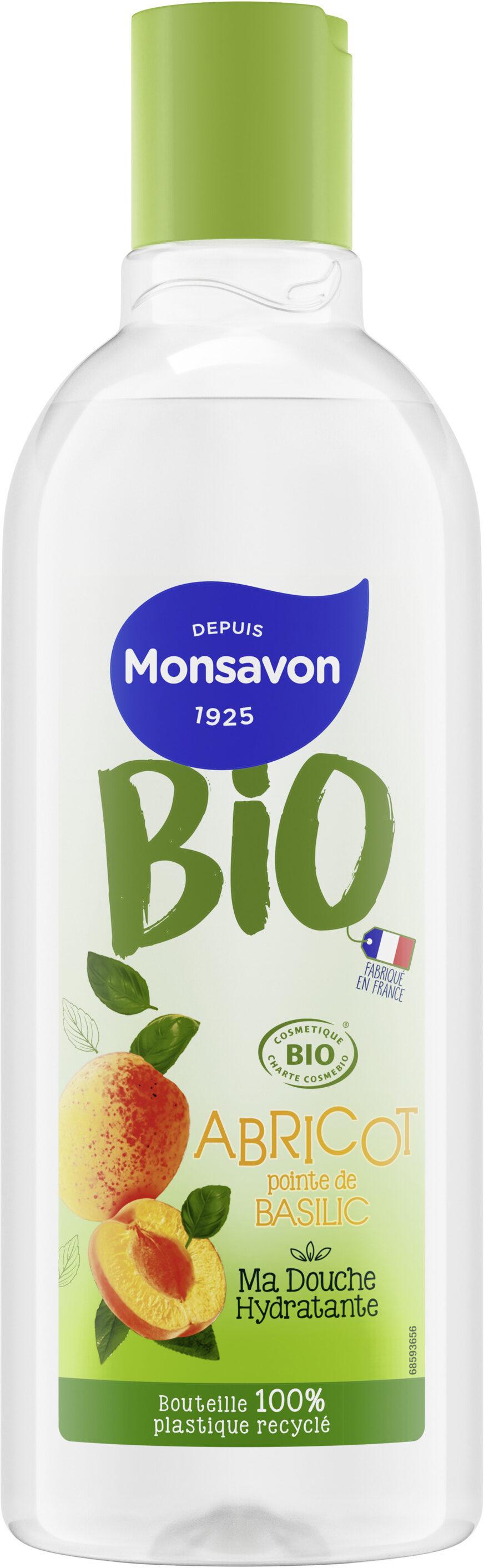 MONSAVON Gel Douche Bio Abricot & Basilic - Product - fr