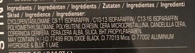 Gel Eye Liner Noir - Ingredients - fr