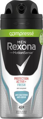REXONA Déodorant Homme Spray Anti Transpirant Protection Active+ Fresh - Product - fr