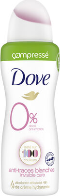 Dove Déodorant Femme Spray Anti-irritation Invisible Care - Product - fr