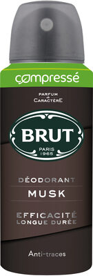 Brut Déodorant Homme Spray Compressé Musk - Produit - fr