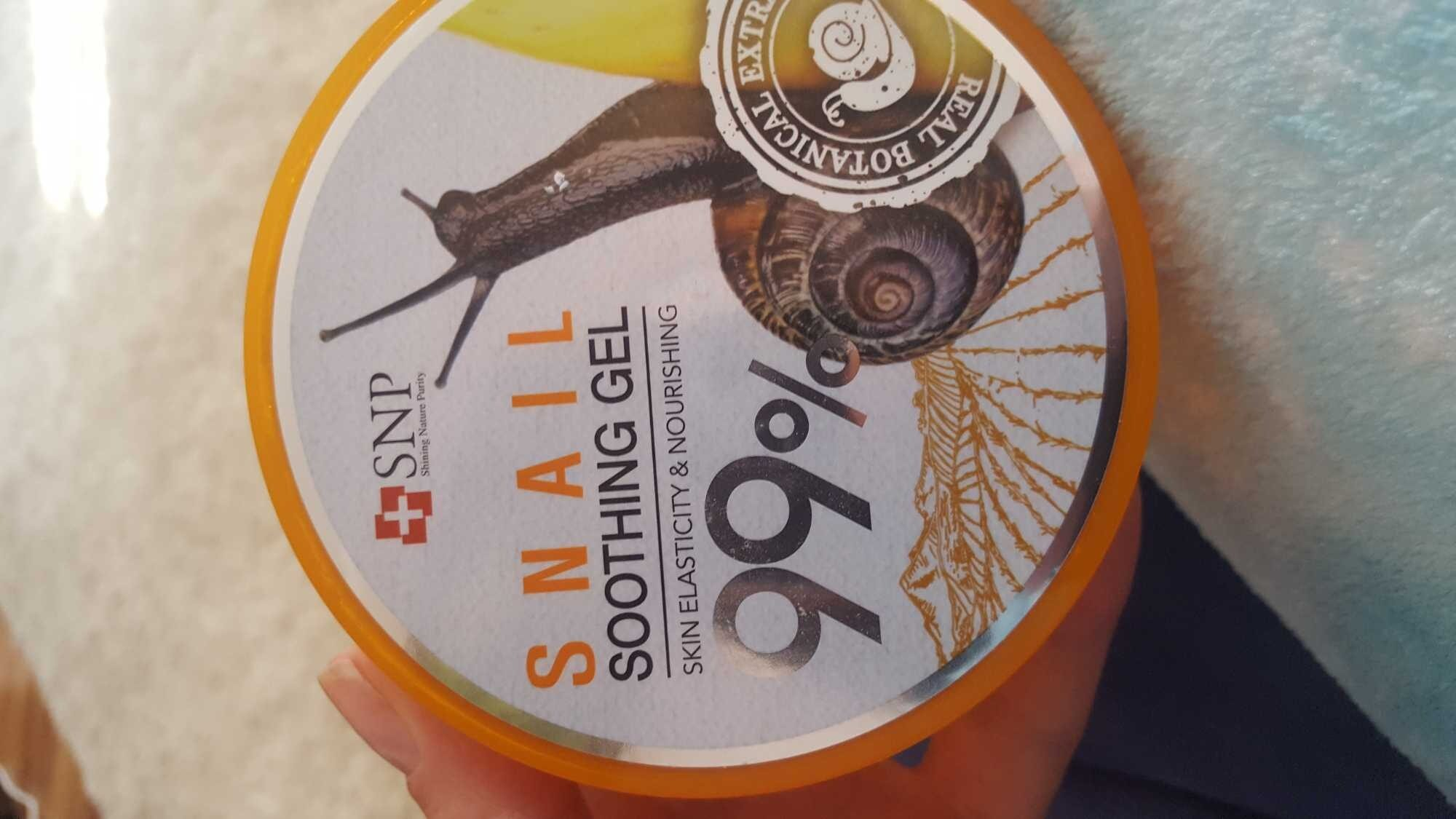 Snail soothing gel - Product - en