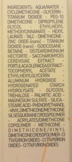 BB Eye - Ingredients