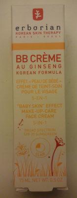 BB crème au ginseng korean formula - Produit