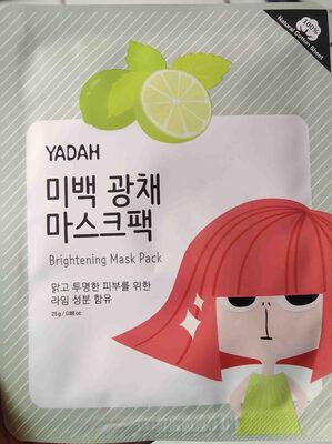 Yadah Brightening Mask Pack - Product - en