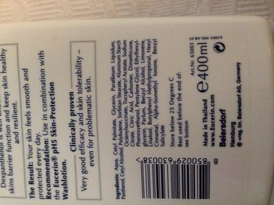 Eucerin skin protection lotion pH5 - Ingredients - en
