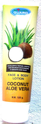 Face & body lotion Coconut Aloe Vera - Product