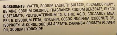 Coconut Oil & Ylang Ylang Conditioner - Ingredients - en