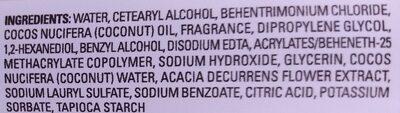 Coconut Water & Mimosa Flower Shampoo - Ingredients - en