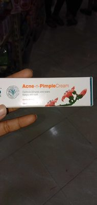Acne n pimple cream - Product - en