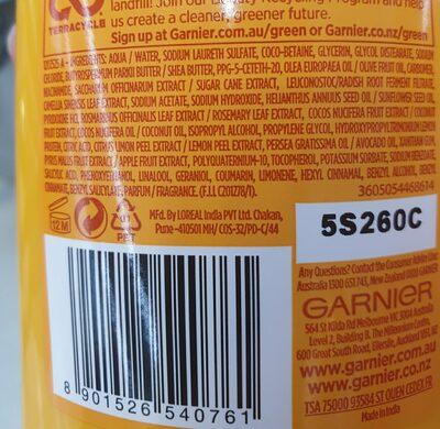 garnier - Ingredients - en