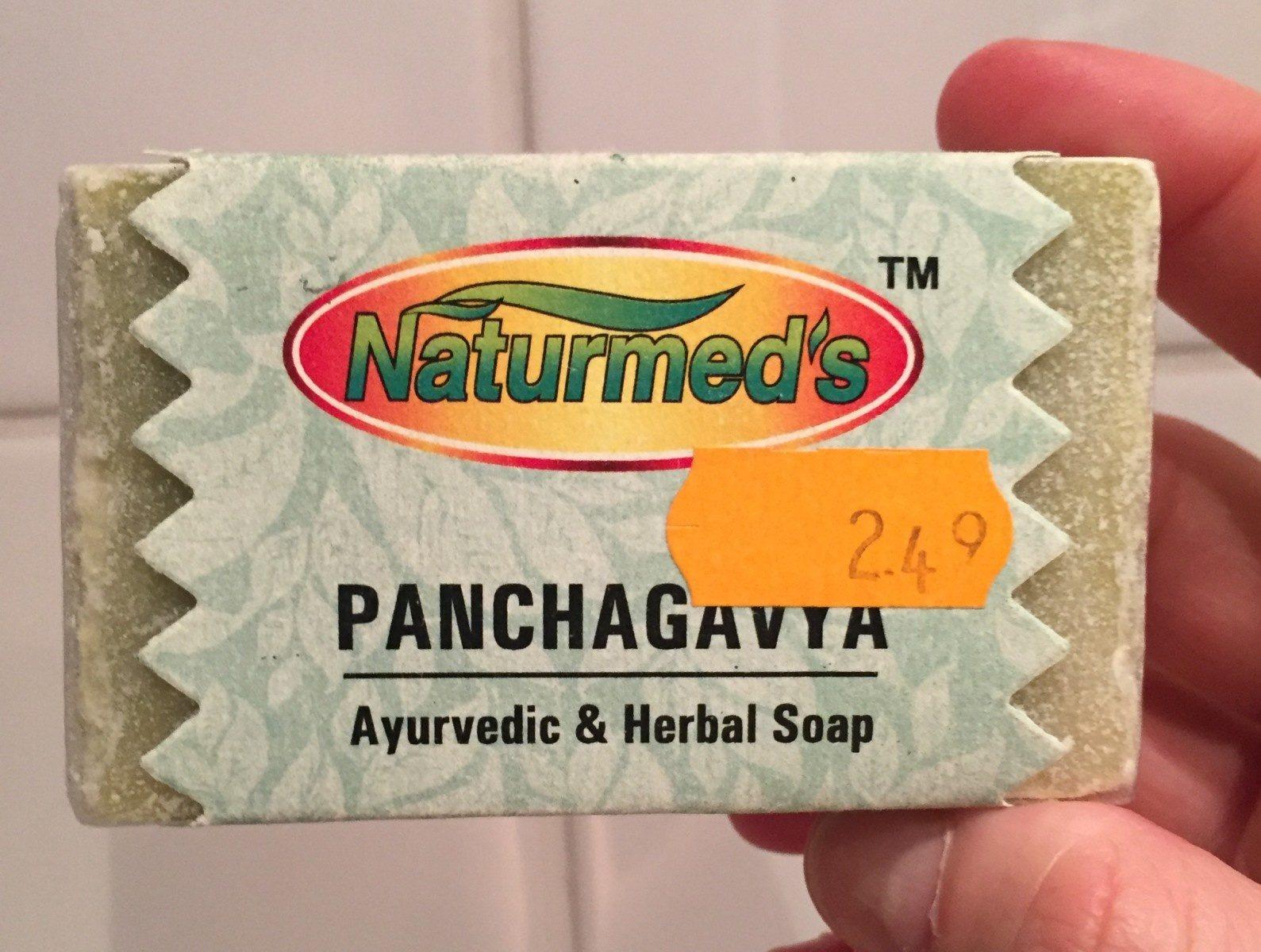 Panchagavya Ayuvedic & Herbal Soap - Product