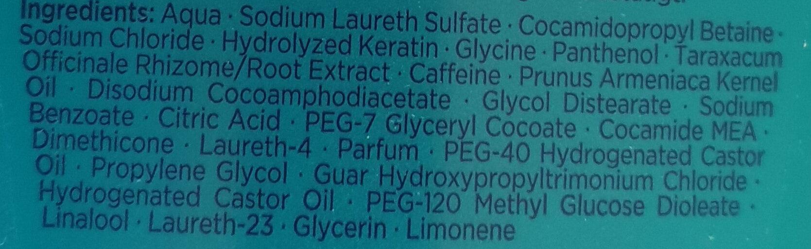 GLEM vital Fülle-Shampoo Löwenzahn-Extrakt - Ingredients
