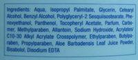 Apres Lotion Aloe Vera - Ingredients - nl