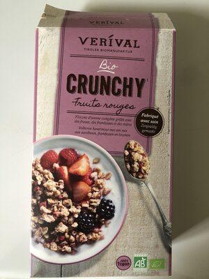 Crunchy fruits rouges (100% vegan) - Produit