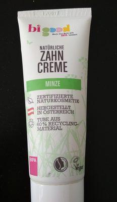 bigood Zahncreme Minze - Product