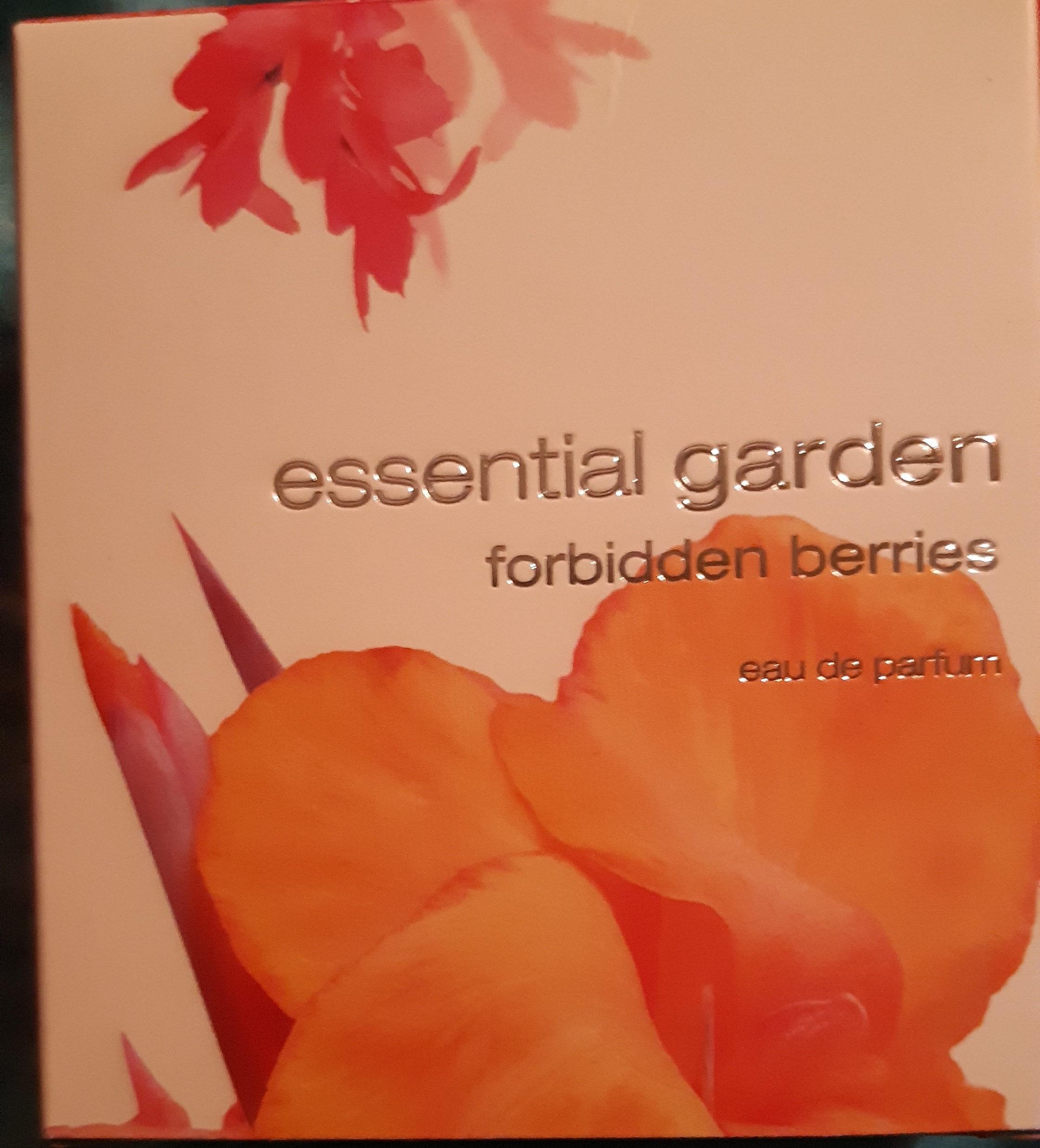 essential garden forbidden berries - Product