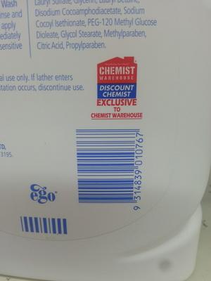 QV WASH - Product - en