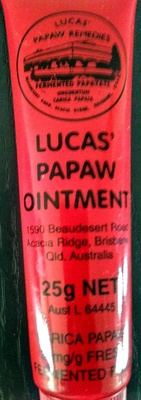 LUCAS' PAPAW OINTMENT - Product