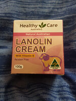 lanolin Cream with vitamin E - Produto - en