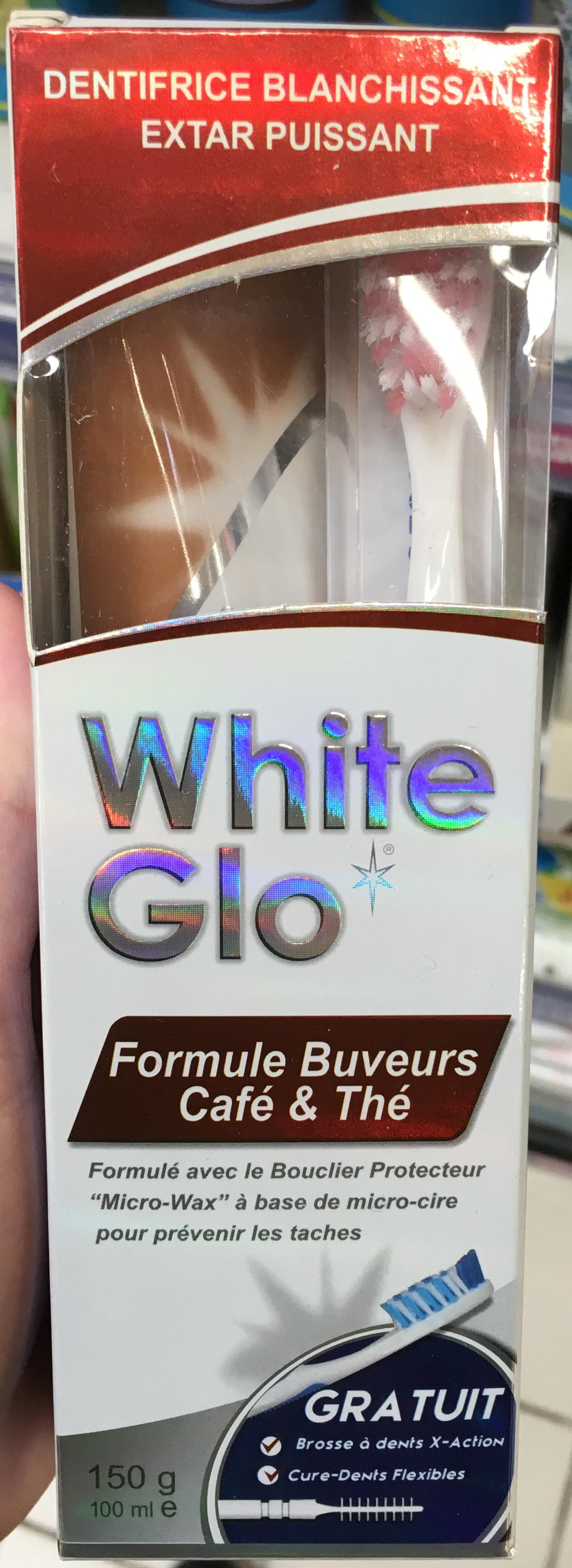 Dentifrice blanchissant Formule Buveurs Café & Thé - Product - fr
