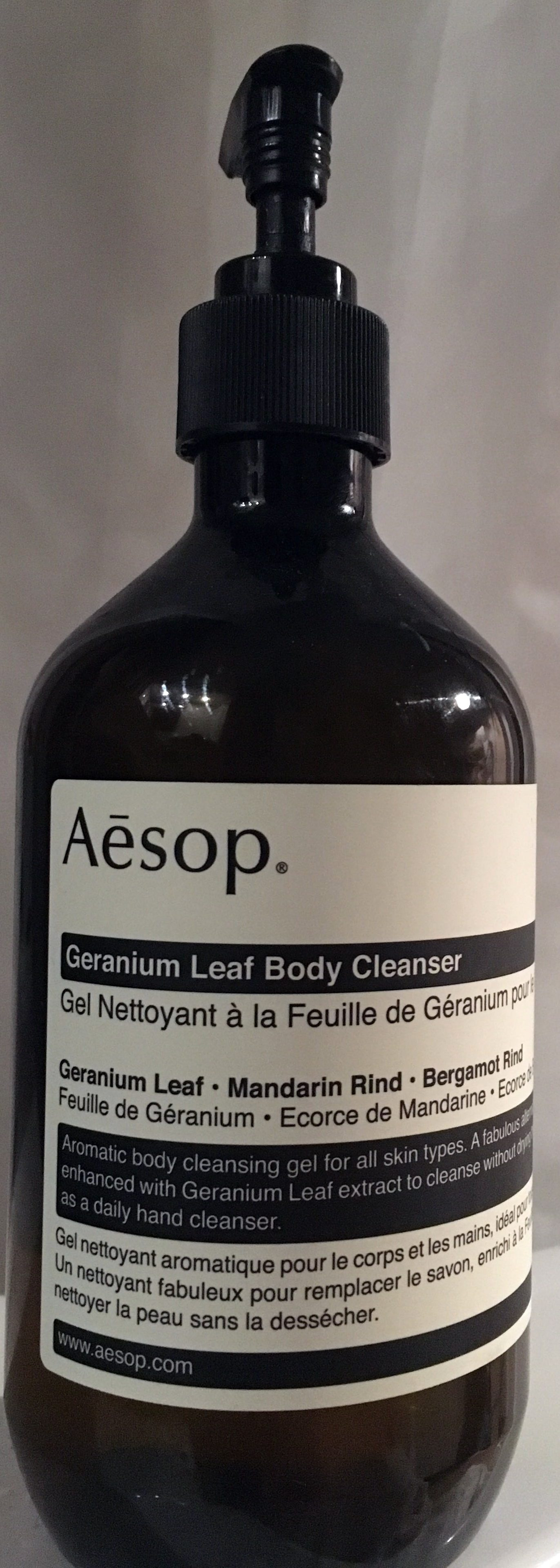 Geranium leaf body cleanser - Produit - fr