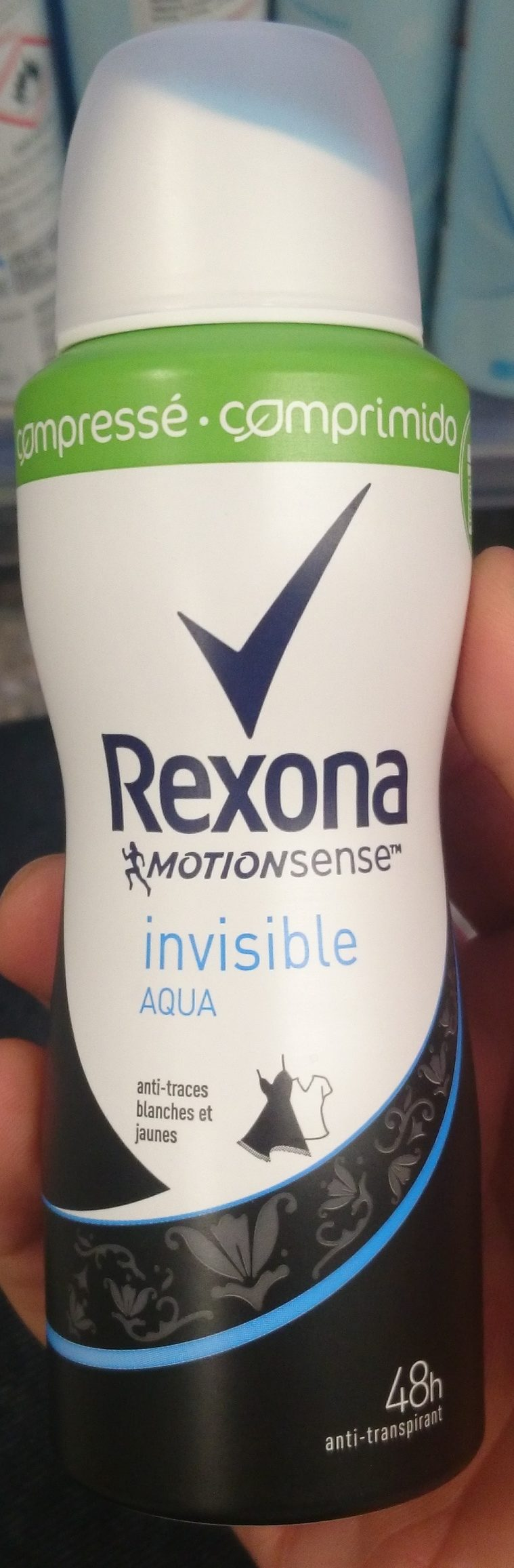 Motionsense Invisible Aqua - Produit