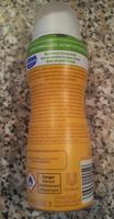 Soin Lait & Fleur d'Oranger au beurre de Karité - 0% alcool, 0% paraben - MONSAVON - compressé - Ingredients