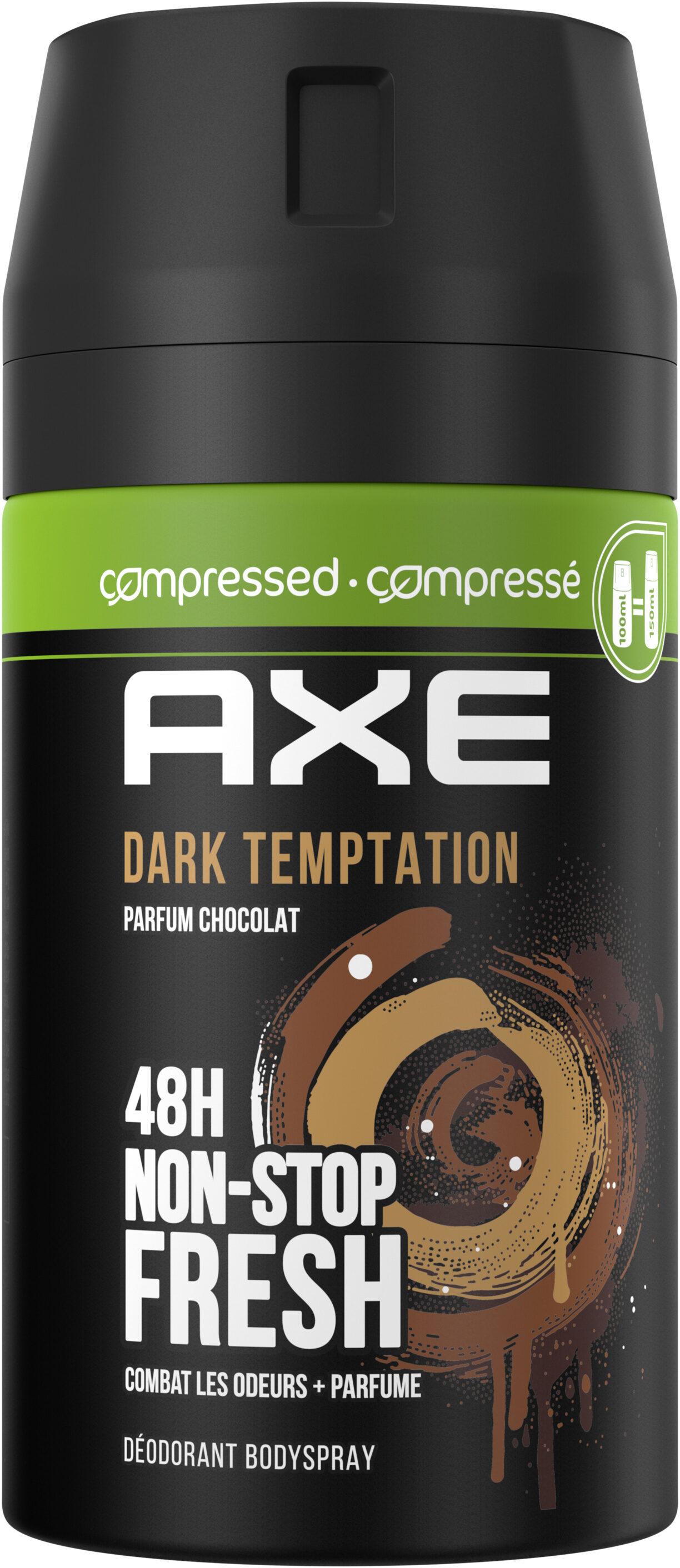 AXE Déodorant Homme Bodyspray Compressé Dark Temptation 48hFrais - Product - fr