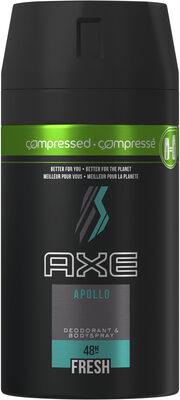 AXE Déodorant Homme Spray Compressé Apollo Frais 48h - Product - fr
