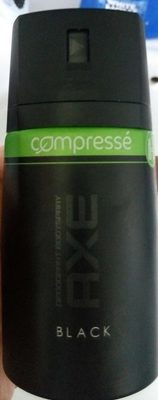 Deodorant Bodyspray Black compressé - Produit - fr
