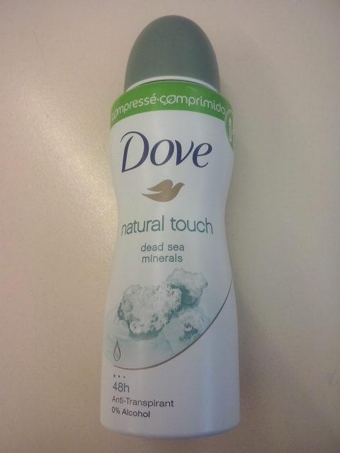 dove natural touch - Produit - en