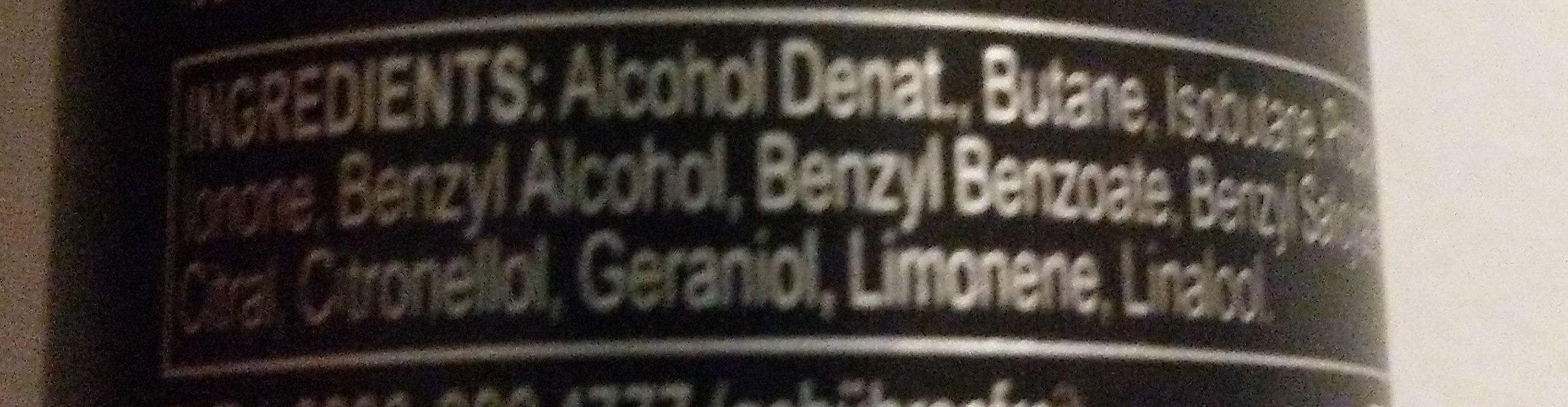 Black - Ingredients - de