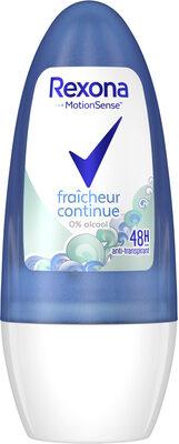 REXONA Déodorant Femme Bille Antibactérien Fraicheur Continue - Product - fr